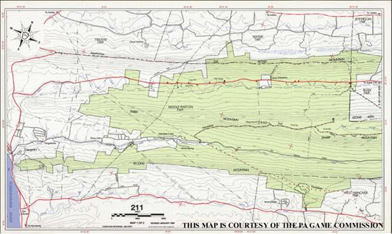 SGLmap.jpg State Game Land Maps on state parks map, state forest land map, fishing map, blue marsh lake map,